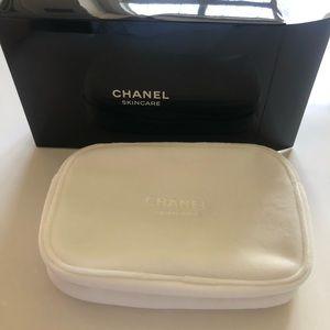 BNWT Chanel velvet cosmetic/skincare pouch